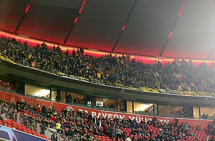 Η εντυπωσιακή κερκίδα της ΑΕΚ στην «Αλιάντς Αρένα» (pics)