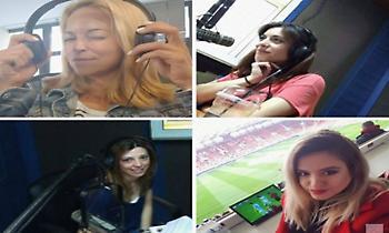 Οι γυναίκες του ΣΠΟΡ FM 94,6 παίζουν μεγάλη μπάλα και σου αποκαλύπτουν πώς περνά μια αθλητικογράφος!