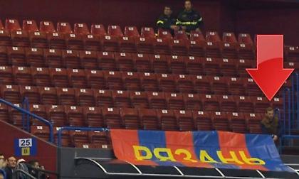 ΤΣΣΚΑ Μόσχας: Μία εξέδρα… μόνος του στο Μιλάνο (video)
