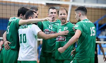 Πρώτη νίκη για Παναθηναϊκό, 3-0 την Κομοτηνή