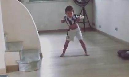 Ο γιος του Πιάνιτς πανηγυρίζει όπως ο Κριστιάνο Ρονάλντο (video)