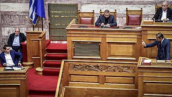 Μητσοτάκης σε Τσίπρα: Ξεχάστε τον συνταγματικό ακτιβισμό, δεν θα συριζοποιήσετε την αναθεώρηση!