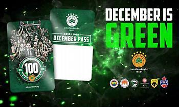 ΚΑΕ Παναθηναϊκός: «December is Green!» (video)
