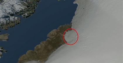 Γροιλανδία: Κρατήρας μεγαλύτερος από λεκανοπέδιο Αττικής κάτω από πάγους