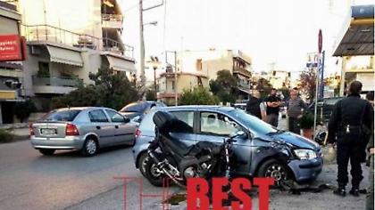 Πάτρα: Σοβαρός τραυματισμός αστυνομικού σε τροχαίο - Νοσηλεύεται διασωληνωμένος