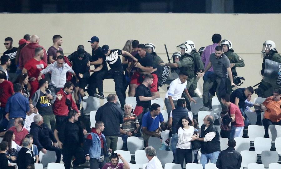Πρόστιμο στον Ολυμπιακό για το ματς Κυπέλλου με την Παναχαϊκή