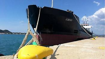 Λευκάδα: Προσάραξη πλοίου σε βραχώδη περιοχή - Το πλήρωμα εγκατέλειψε το σκάφος