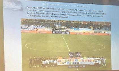 Παρουσιάστηκε η συνεργασία ΠΑΣ Γιάννινα και ΟΗΕ