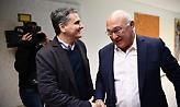 Οι κάλτσες του Σαπέν στη συνάντηση με τον Τσακαλώτο που τράβηξαν τα βλέμματα (pics)