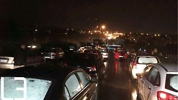 Θεσσαλονίκη: Καραμπόλα με πέντε οχήματα - Τρεις τραυματίες