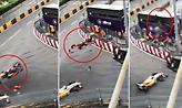 Τρομακτικό ατύχημα στη Formula 3