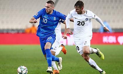 LIVE: Ελλάδα-Εσθονία 0-1 (Τελικό)