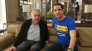 Το καλωσόρισμα Μιζράχι σε Σφαιρόπουλο και η πρώτη συνάντηση με τους παίκτες (video)