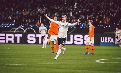 Αγριεμένη η Γερμανία, 2-0 από νωρίς την Ολλανδία! (video)