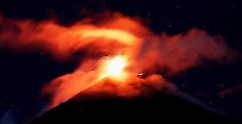 Τερματίστηκε η φάση της έκρηξης του ηφαιστείου Φουέγο στη Γουατεμάλα