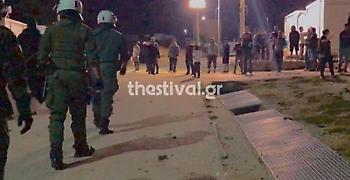 Άγρια συμπλοκή μεταναστών με τραυματίες στο κέντρο φιλοξενίας στα Διαβατά