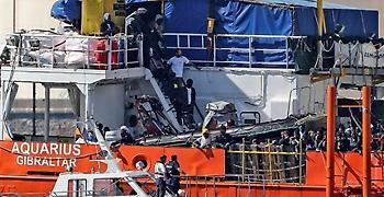 Ιταλία: Κατάσχεση του πλοίου Aquarius διατάσσει η εισαγγελία Κατάνης