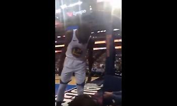 Έξαλλος Κέβιν Ντουράντ σε αντίπαλο οπαδό: «Σκάσε και δες το γ@μ....νο παιχνίδι» (video)