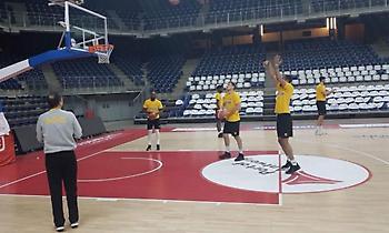 Πρωινή προπόνηση για την ΑΕΚ στην Αμβέρσα