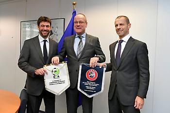 Διέψευσαν τα περί… απόσχισης και Super League οι UEFA και ECA