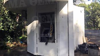 Με φιάλες προπανίου ανατίναξαν το ATM στο νοσοκομείο «Σωτηρία»