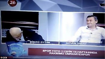 Τούρκος δημοσιογράφος υπέστη καρδιακή προσβολή on air