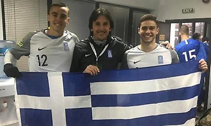 Λάμπρος Σπίντζος: «Ψηλά η ελληνική σημαία, το μέλλον ανήκει σε Νικοπολίδη και Χριστογεώργο»