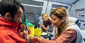 Γιατροί Χωρίς Σύνορα: Εκστρατεία εμβολιασμού 2.000 παιδιών στη Λέσβο
