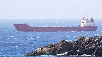 Συνελήφθησαν δυο άτομα για τη φωτιά στο τουρκικό πλοίο που έπιασε φωτιά κοντά στο Ταίναρο
