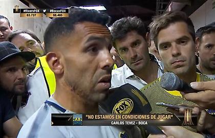Τέβες: «Είναι ντροπή για την CONMEBOL. Δεν πρέπει να γίνει το ματς»