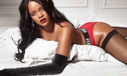 Η Rihanna λανσάρει σέξι εσώρουχα (pics)
