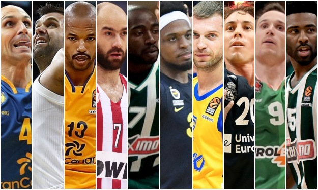 Αειθαλής Σπανούλης: Σύγκριση των 10 γηραιότερων παικτών στην Ευρωλίγκα (πίνακας)