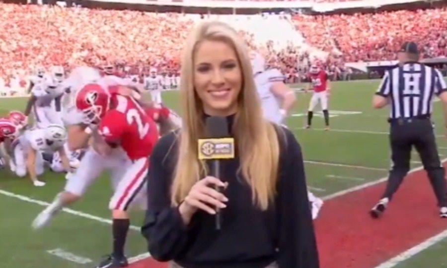 Παίκτης του NFL έκανε τάκλιν σε ρεπόρτερ (vid)