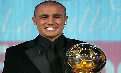 Ο Φάμπιο Καναβάρο κέρδισε τη «Χρυσή Μπάλα» από τη... Μόνικα Μπελούτσι