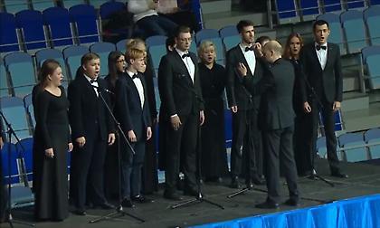 Τραγούδησαν live τον ύμνο της Ευρωλίγκας στη Χίμκι! (video)