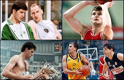 Top 10: Η «συμμορία» των Γιουγκοσλάβων του ελληνικού μπάσκετ
