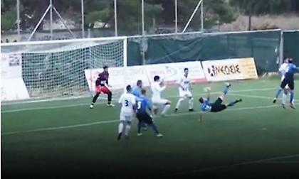 Εκπληκτικό γκολ σε αγώνα τοπικού πρωταθλήματος