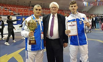 Φινάλε στο Ευρωπαϊκό παίδων/κορασίδων με μετάλλιο για Μαρέτη και τρίτη θέση για Ελλάδα