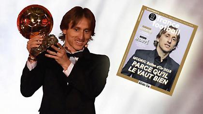 Μόντριτς: «Χαίρομαι που ένας φυσιολογικός άνθρωπος μπορεί να κερδίσει τη Χρυσή Μπάλα»