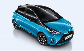 Δυνατότητα on-line αγοράς ενός Toyota Yaris Hybrid e-nergy