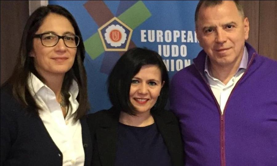 Η Βαλεντίνα Στεφανίδου εκπροσώπησε την Ελλάδα στο 70ό Κογκρέσο της EJU