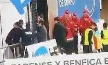 Αστυνομικός χτύπησε τραυματία ποδοσφαιριστή στην Πορτογαλία! (video)