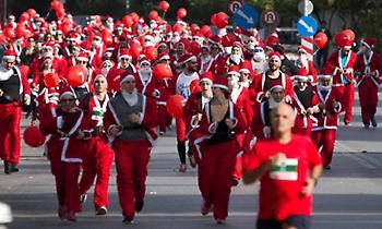 To Santa Run επιστρέφει στο Μαρούσι για να προσφέρει στιγμές χαράς