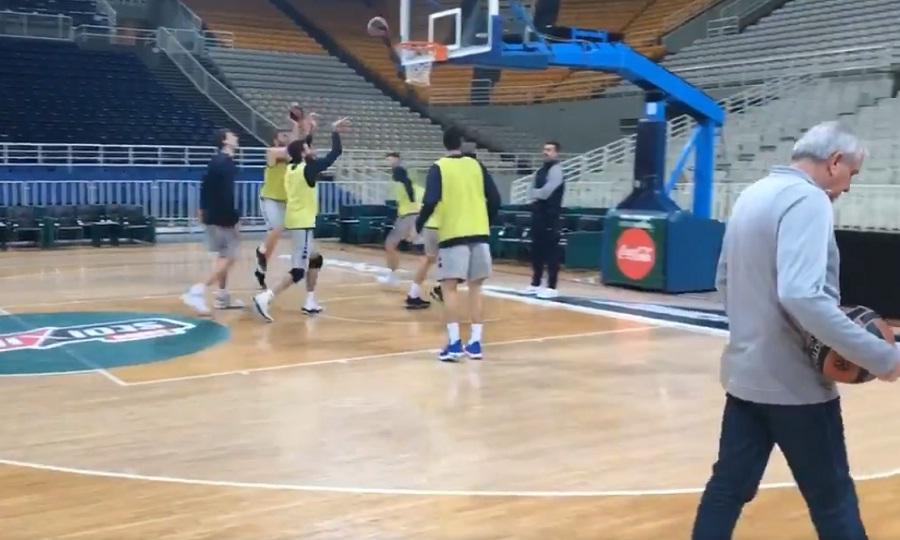 Από νωρίς στο ΟΑΚΑ Ομπράντοβιτς και Φενέρ (video)