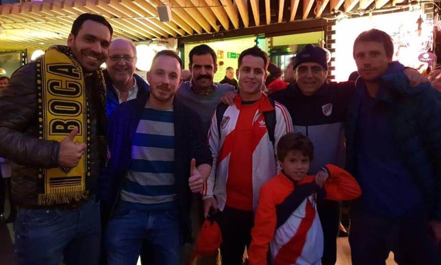 Το sportfm.gr στο Μπόκα-Ρίβερ: «Διαφορετικά στρατόπεδα, αλλά τα χρώματα δεν χωρίζουν τις φιλίες»