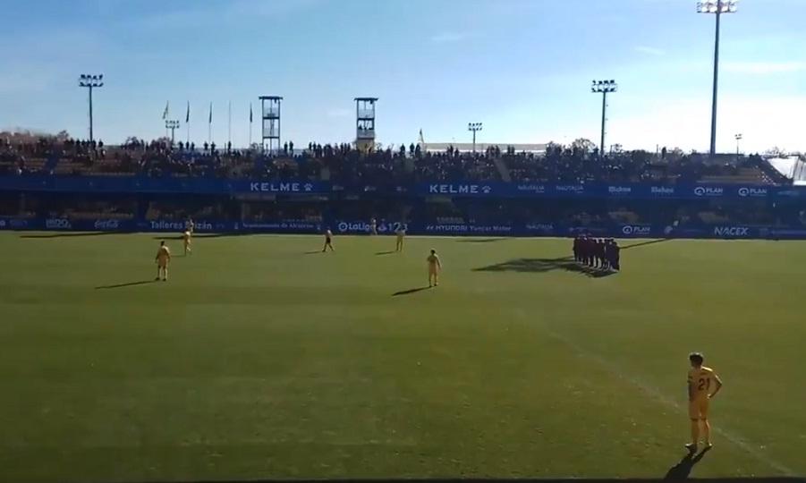 Στάση… εργασίας από παίκτες στη Segunda Division στο 1ο λεπτό του αγώνα (video)