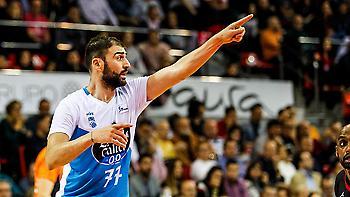 MVP της αγωνιστικής στην ACB ο Βασιλειάδης