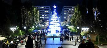 Ανάβει σήμερα το δέντρο στο Σύνταγμα -Αυλαία για 230 εκδηλώσεις
