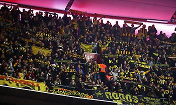 Η πορεία των οπαδών της ΑΕΚ προς το «Ντα Λουζ» (video)