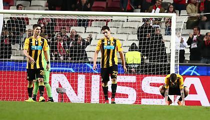 Ούτε μία τελική εντός στόχου για την ΑΕΚ στα τρία εκτός έδρας ματς